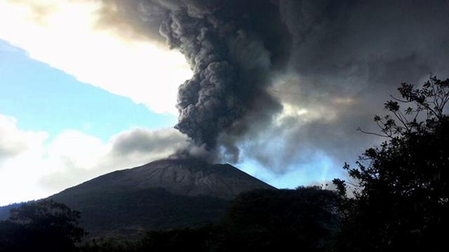 السلفادور... ثورة بركان