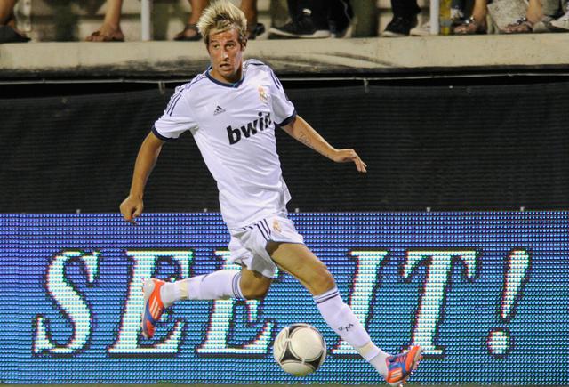 كوينتراو يشد الرحال عن ريال مدريد