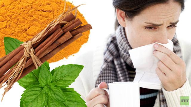 الأطباء: التوابل تساعد كثيرا في علاج نزلات البرد