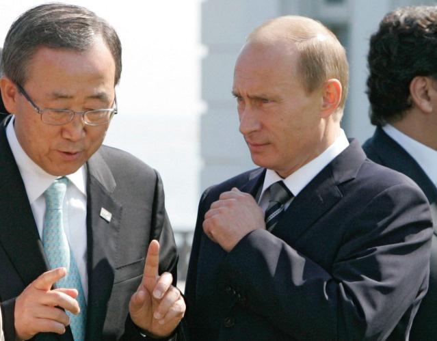 بان كي مون في اتصال مع بوتين عقب تفجيري فولغوغراد: يجب توحيد الجهود الدولية لمكافحة الإرهاب