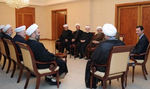 الأسد يدعو الى محاربة الفكر الوهابي التكفيري الذي يشوه الدين الإسلامي