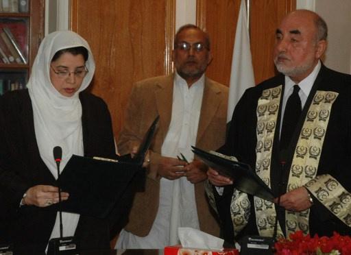 امرأة بمنصب قاض في المحكمة الاسلامية الباكستانية