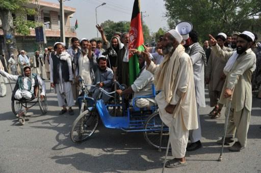 مصرع شخصين واصابة 8 آخرين في مسيرة احتجاج بافغانستان