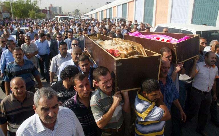حصيلة العنف في العراق لعام 2013