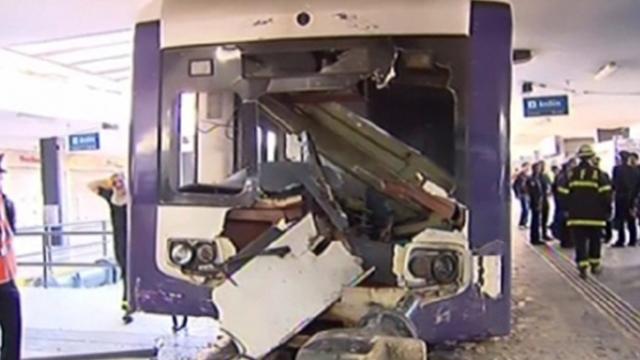 أهم حوادث السكك الحديدية عام 2013