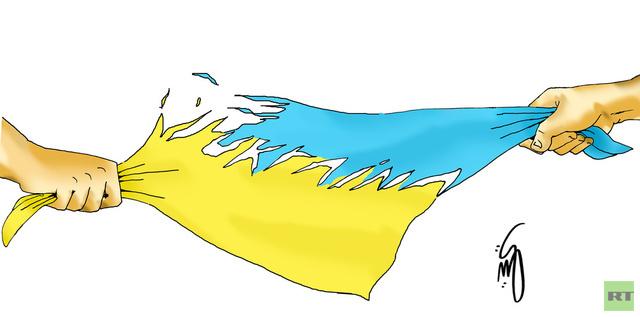 كاريكاتير: أوكرانيا