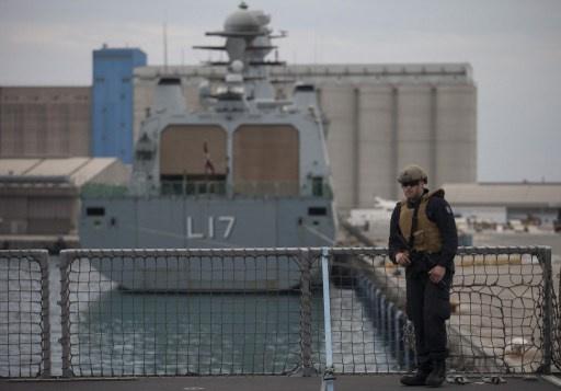 السفن الدنماركية والنرويجية تبحر إلى سورية لغرض تأمين نقل السلاح الكيميائي
