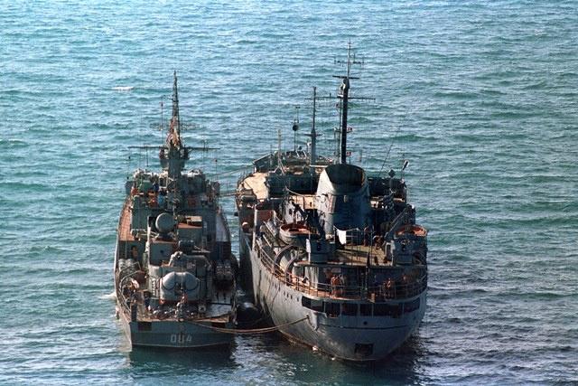 البحرية السنغالية توقف سفينة روسية لصيد الأسماك قرب سواحل غينيا بيساو
