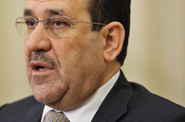 المالكي: لن ننسحب من الأنبار قبل إنهاء جميع المظاهر المسلحة