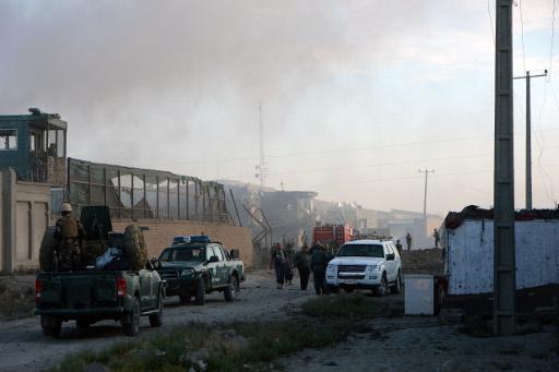 انفجار هائل في الحي الدبلوماسي بكابول