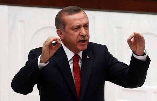 اردوغان يصف فضيحة فساد حكومته بالمؤامرة على أمن البلاد