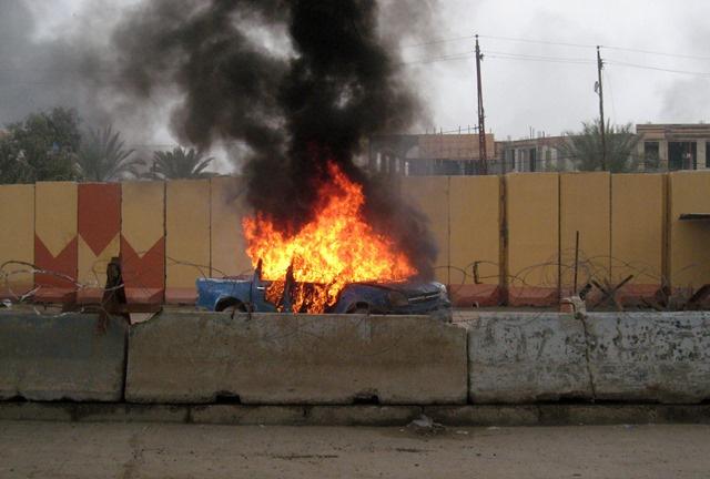 سقوط 40 شخصا بين قتيل وجريح في سلسلة تفجيرات ببغداد