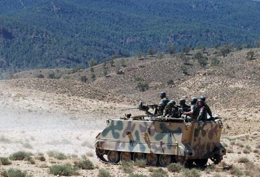 الجيش التونسي يلاحق إرهابيين في جبل الشعانبي