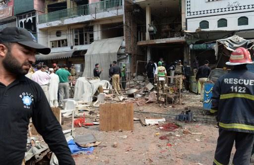 10 قتلى بانفجار في بيت زعيم قبلي شمال غرب باكستان