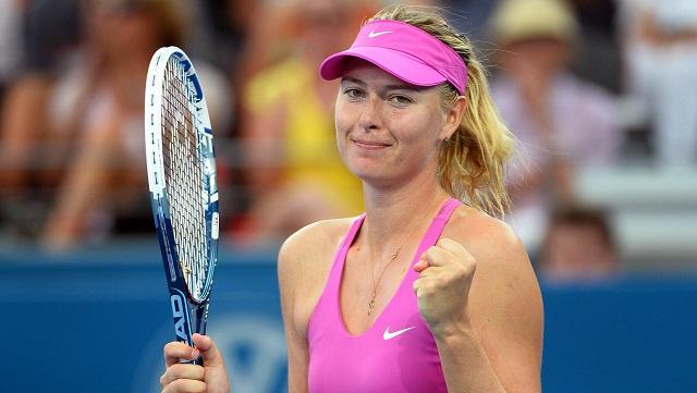 شارابوفا ترتقي إلى المركز الثالث في التصنيف العالمي للاعبات التنس