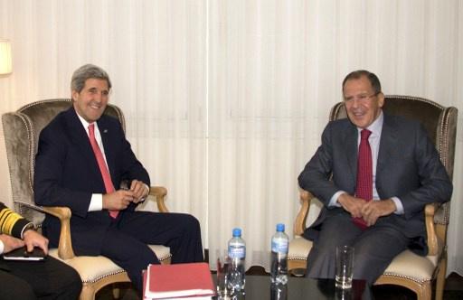 الأمم المتحدة: لافروف وكيري سيبحثان دور إيران في التسوية السورية في 13 يناير