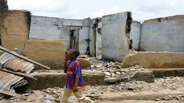 مقتل 30 شخصا بأحداث عنف في وسط نيجيريا