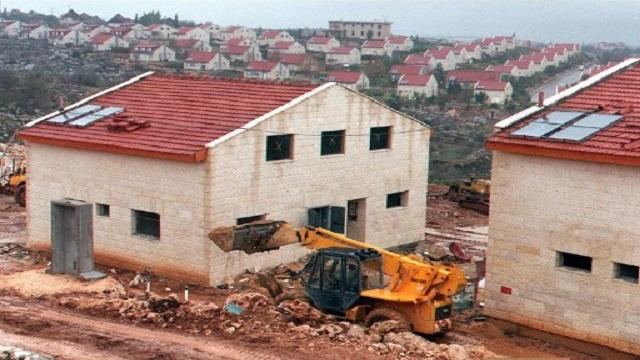 إسرائيل تصادق على بناء 272 وحدة استيطانية جديدة في الضفة