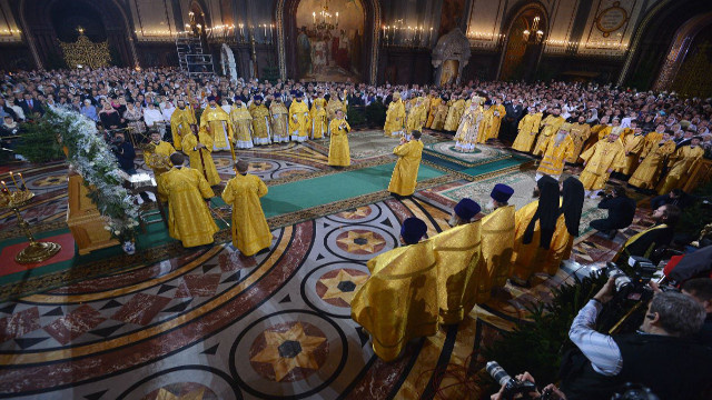 البطريرك كيريل يهنئ المسيحيين الأرثوذكس بمناسبة عيد ميلاد السيد المسيح