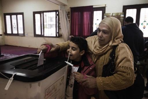 مصريو الخارج يصوتون على الدستور الجديد