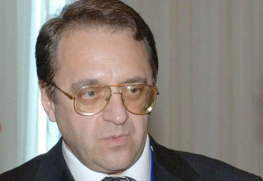 بوغدانوف يبحث مع السفير السوري التحضير لمؤتمر