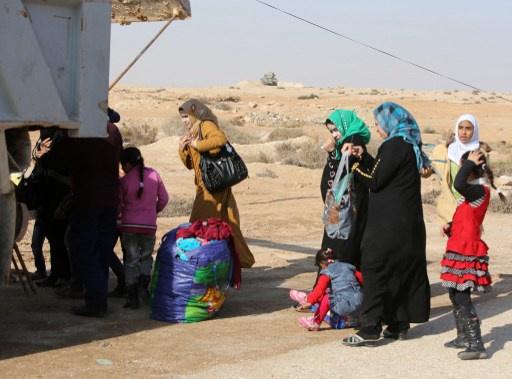 الهلال الأحمر العراقي يعلن نزوح 13 ألف عائلة من الفلوجة