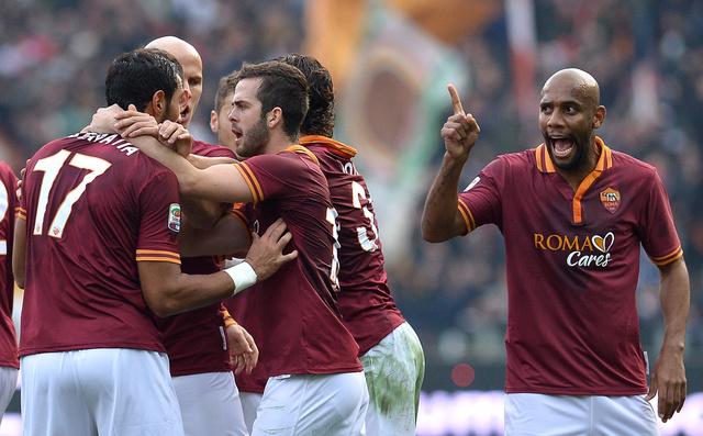 روما يبلغ ثمن نهائي كأس إيطاليا بالفوز على سامبدوريا