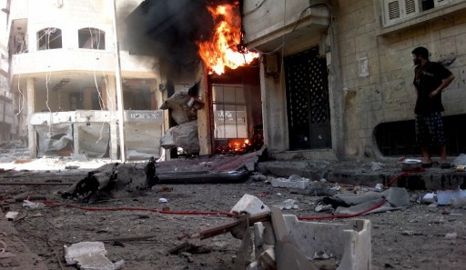 نشطاء يؤكدون مقتل 45 مسلحا في حمص والجيش يعلن تصفية مجموعات مسلحة في حمص وريفها