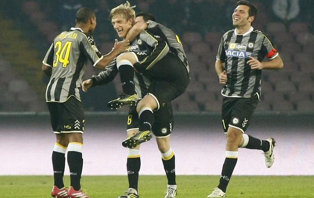 أودينيزي يقصي إنترميلان من كأس إيطاليا