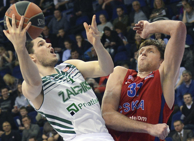 تسيسكا موسكو يهزم زالغيراس كاوناس في الدوري الأوروبي لكرة السلة