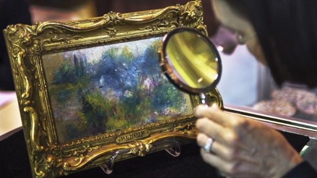محكمة أمريكية تعيد لوحة رينوار المسروقة إلى المتحف