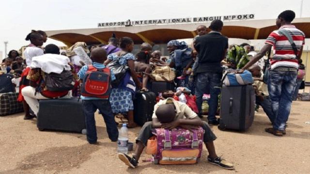 جسر جوي لإجلاء آلاف الأجانب من إفريقيا الوسطى