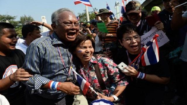 إصابات بإطلاق نار على المتظاهرين في تايلاند