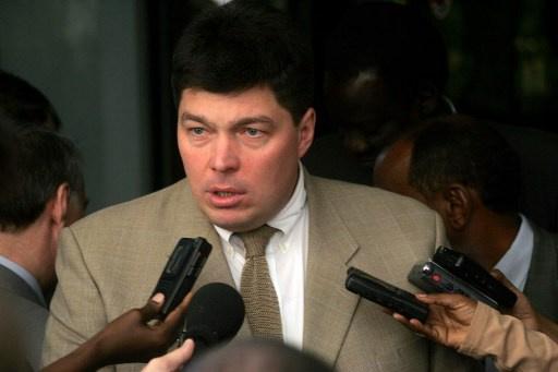 مارغيلوف يرحب باستقالة رئيس جمهورية أفريقيا الوسطى ميشيل جوتوديا