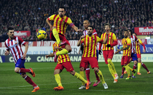 التعادل سيد الموقف في قمة الليغا بين برشلونة وأتلتيكو مدريد