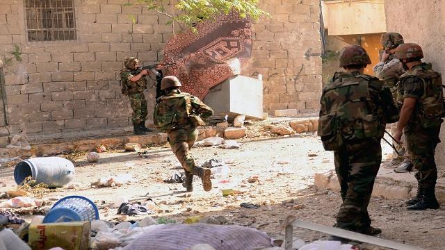 الجيش السوري يتقدم في حلب و