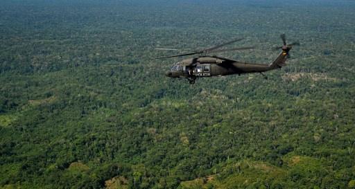 5 قتلى بتحطم مروحية في كولومبيا