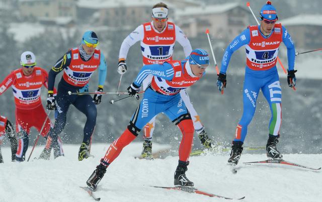 الثنائي الروسي كريوكوف وفيليغجانين يحرز المركز الأول في كأس العالم للتزلج