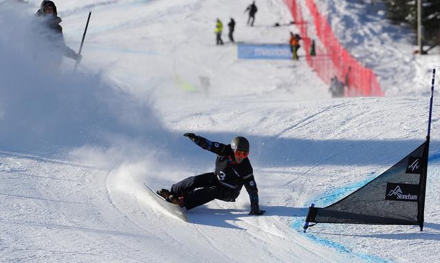 الروسي أويلد ينتزع المركز الأول على العالم في سباق التعرج المتوازي