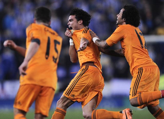 ريال مدريد يهزم إسبانيول ويذلل الفارق مع برشلونة وأتلتيكو