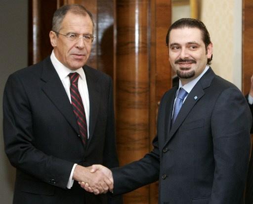 الخارجية الروسية: لافروف بحث والحريري الوضع في لبنان والأزمة السورية