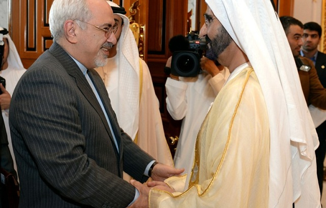 حاكم دبي يدعو الى تخفيف العقوبات المفروضة على طهران