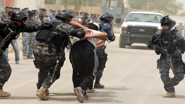 اعتقال 9 مطلوبين والعثور على 67 عبوة ناسفة في الموصل بالعراق