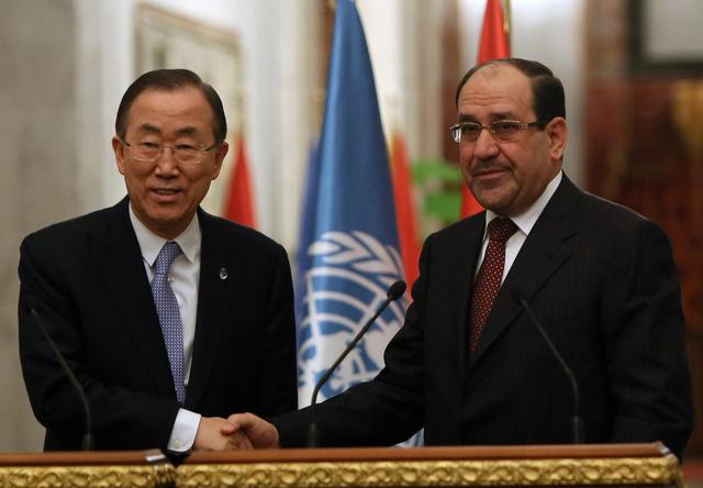بان كي مون: مسألة التمويل السعودي المحتمل للارهابيين في العراق ستناقش في مجلس الأمن الدولي