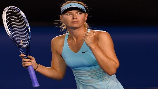 الروسية شارابوفا تعبر الى ثاني أدوار بطولة أستراليا المفتوحة