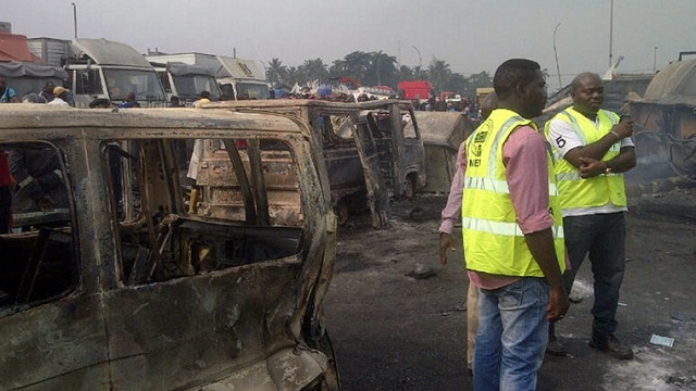 مقتل 7 في إنفجار أمام مبنى التلفزيون النيجيري