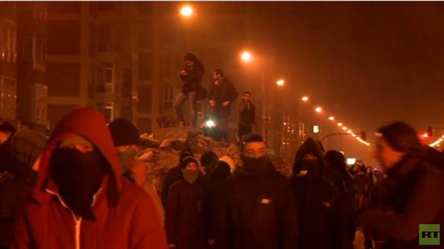 بالفيديو.. احتجاجات في بورغوس الإسبانية على إعادة تخطيط أحد الشوارع