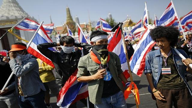 إصابة شخصين بأحداث في العاصمة التايلاندية