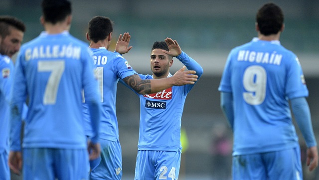 نابولي يكمل عقد المتأهلين إلى ربع نهائي كأس إيطاليا
