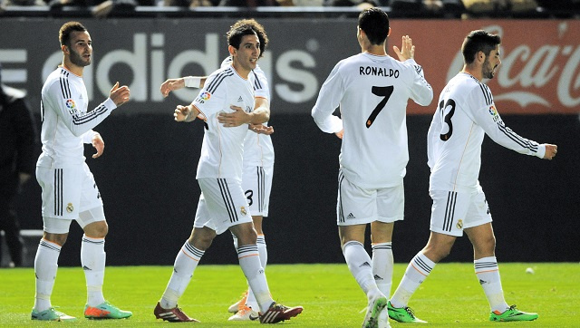 ريال مدريد يجدد فوزه على أوسوسونا ويبلغ ربع نهائي كأس إسبانيا